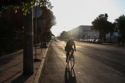 Durante la contingencia también se aumentaron las ciclovías emergentes hasta en 54 kilómetros (Foto: Cuartoscuro)