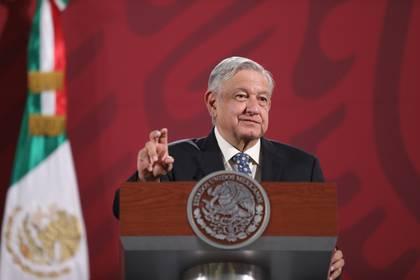 El presidente de México, Andrés Manuel López Obrador, anunció la semana pasada las acciones para reactivar la economía en el país. (Foto: Sáshenka Gutiérrez/EFE)