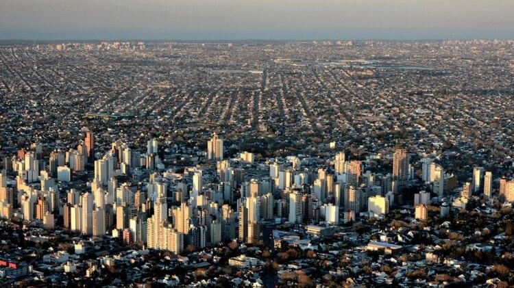 Vista aérea de La Matanza, una de las capitales alternas elegidas por el gobierno nacional