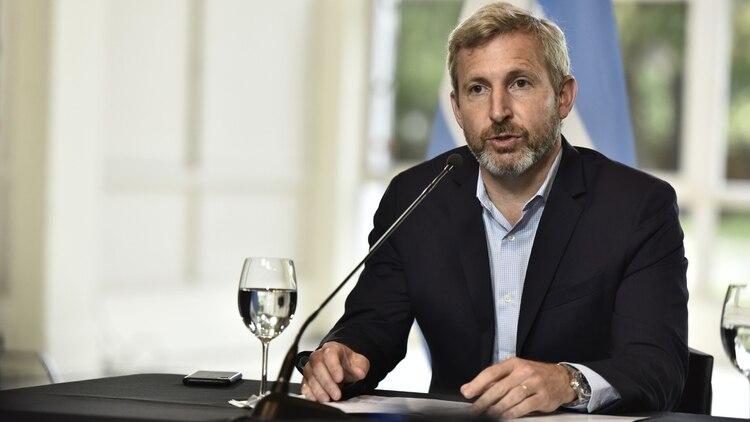 El ministro del Interior Rogelio Frigerio (Adrián Escandar)