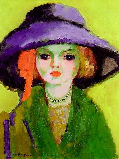 """Retrato de Dolly"", de Kees Van Dongen"