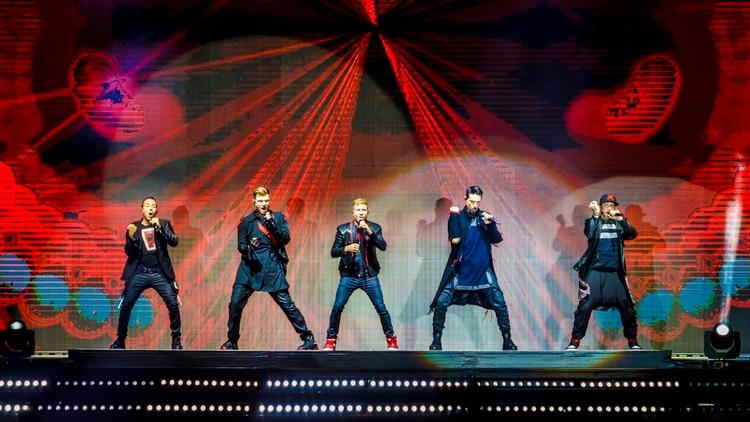 Luego de 21 años de su primera visita al país, Backstreet Boys se reencontró con el público argentino (Gentileza Prensa)