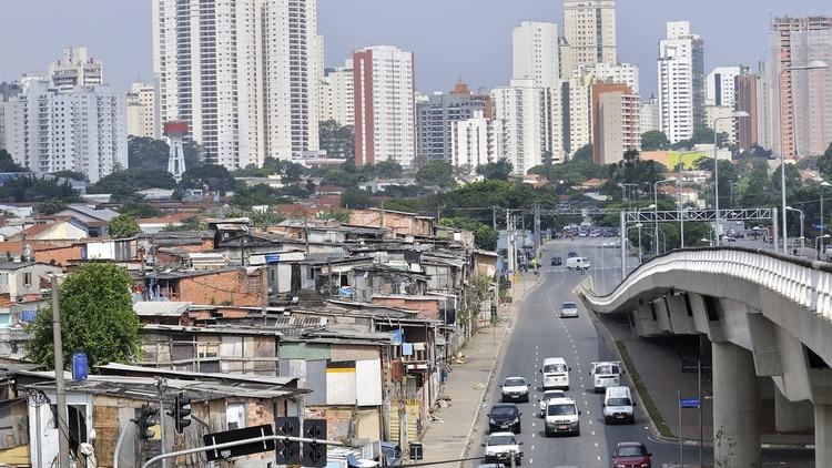 La favela de Paraisópolis, la más grande de San Pablo (Florian Kopp/imageBROKER/Shutterstock)