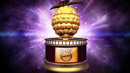 El galardón de los premios Razzier