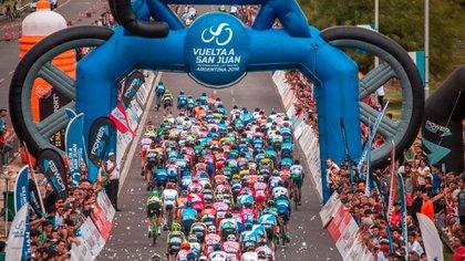 Vuelta a San Juan 2020: se presentó la fiesta del ciclismo argentino - Infobae