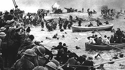 Dunkerque fue una gigantesca operación de evacuación de cientos de miles de soldados aliados, desde la costa francesa hacia Inglaterra