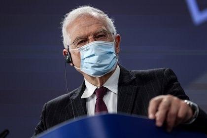 El alto representante para la Política Exterior de la UE, Josep Borrell (Kenzo Tribouillard/REUTERS)