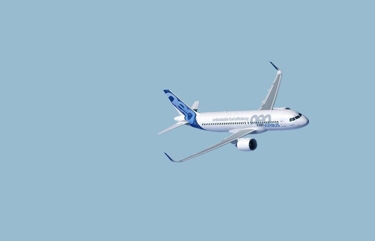El Airbus A320 neo, cuyo éxito inicial llevó al desarrollo del 737 MAX (Airbus)