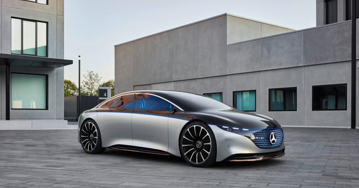 Mercedes-Benz EQS, the new electric car that challenges Elon Musk's Tesla vehicles
