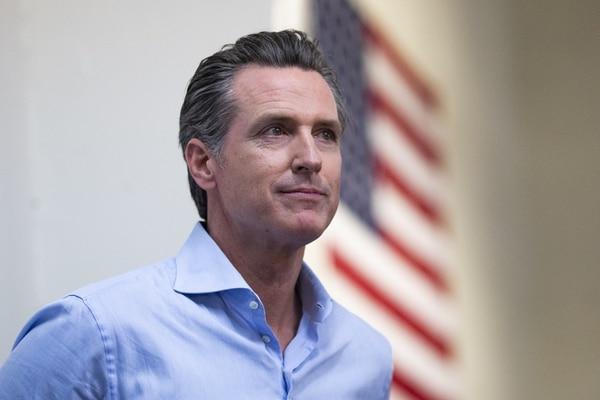 Gavin Newsom, nuevo gobernador de California. (Alex Edelman/Getty Images/AFP)