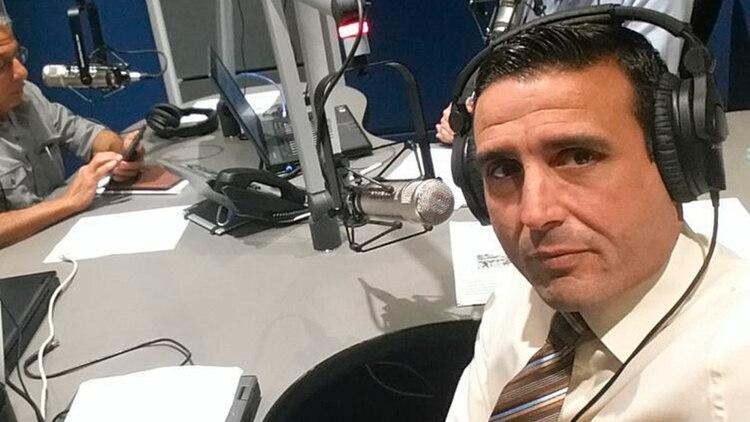 René Pedrosa en su etapa de periodista