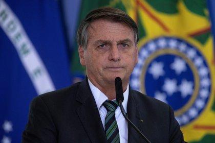 En la imagen, el presidente de Brasil, Jair Bolsonaro (EFE/Joédson Alves/Archivo)