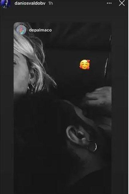 Las fotos de Osvaldo y De Palma que confirman el romance (Fotos: Instagram)