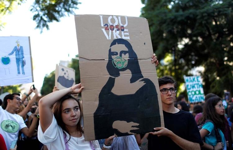 Viernes por el Futuro en Lisboa, Portugal (REUTERS/Rafael Marchante)