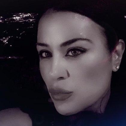 Nieves, la mujer de Axel Caniggia (Instagram)