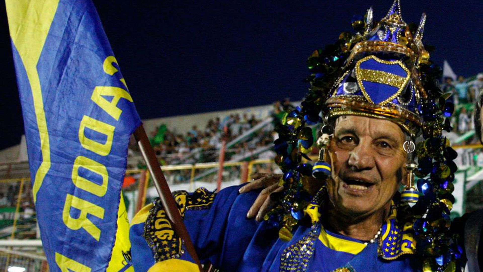 Oscar Laudonio, el Loco Banderita, está internado