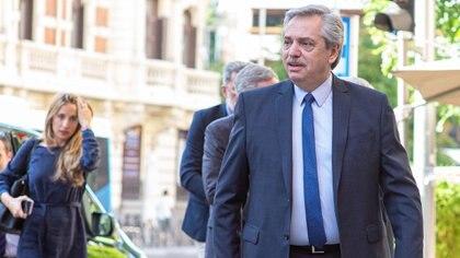 El candidato del Frente de Todos, Alberto Fernández (Foto: Alejandro Rios)