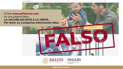 El NSABO exhortño a la población a no difundir información falsa (Foto: Twitter@iINSABI_mx)