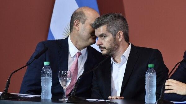 Federico Sturzenegger y Marcod Peña (Adrián Escándar)