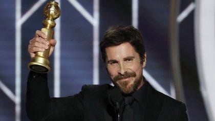 """Christian Bale obtuvo el premio a Mejor Actor de comedia o musical por """"Vice""""(Reuters)"""