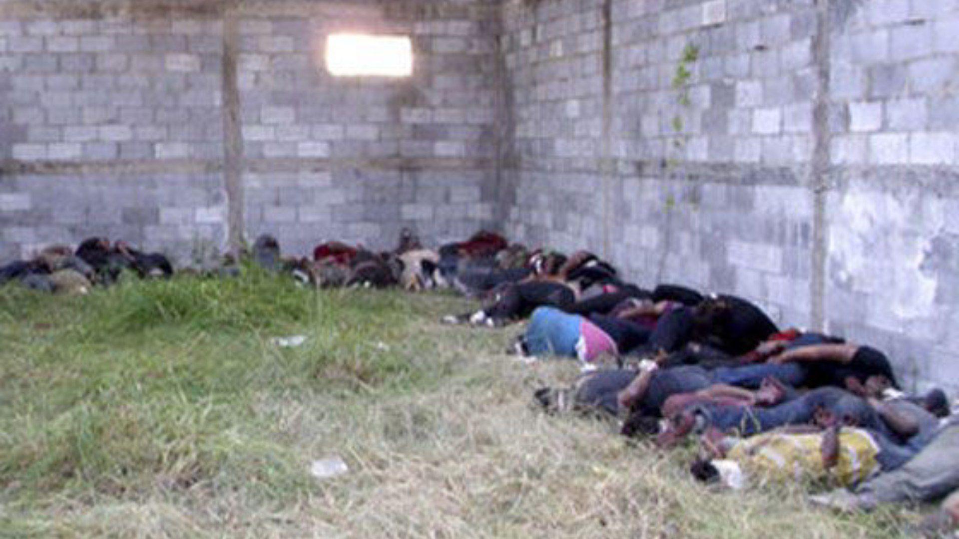 El 24 de agosto de 2010 militares encontraron a 72 migrantes asesinados en un rancho aislado en El Huizechal, municipio de San Fernando, Tamaulipas (Foto: AFP)