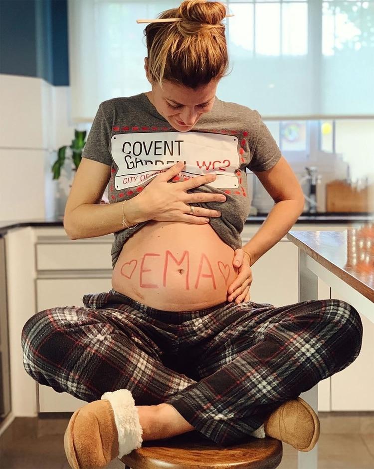 Ema se llamará la primera hija de la actriz (Instagram)