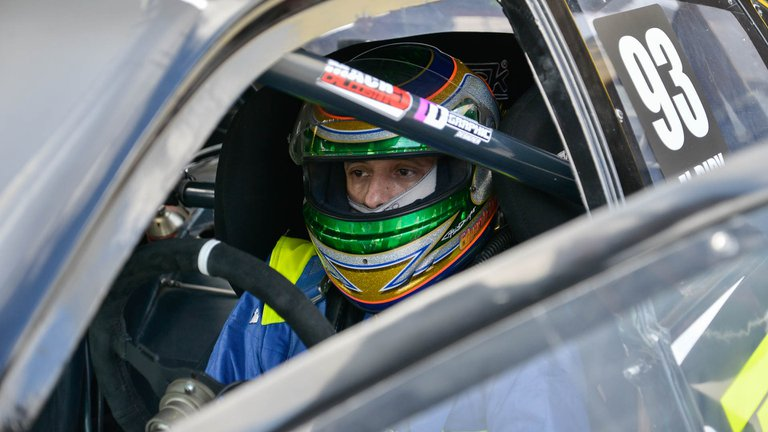 La palabra del Dipy luego de protagonizar un choque en la categoría Top Race de automovilismo