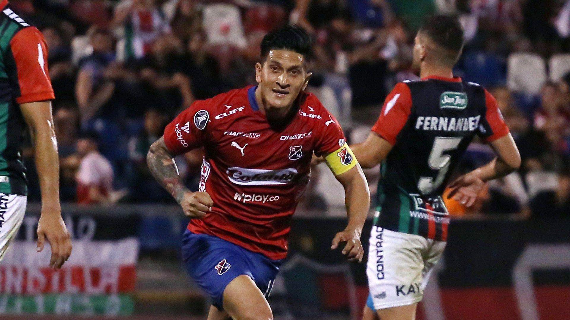 Germán Cano es el goleador histórico de Independiente Medellín (Credit: Elvis Gonzalez/EFE/Alamy Live News)