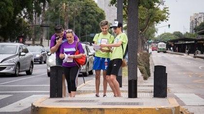 Cada equipo decide el camino a seguir y la forma de movilizarse (Luis E Vasquez iloverunn)