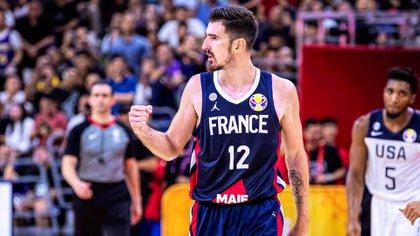 Nando De Colo, una de las figuras de Francia (EFE)