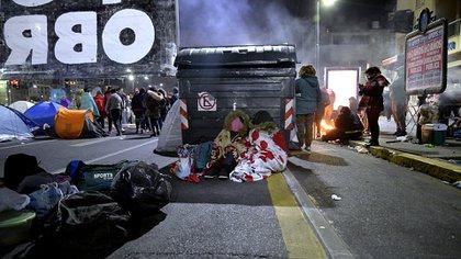 A las 10 definen si levantan o extienden la protesta