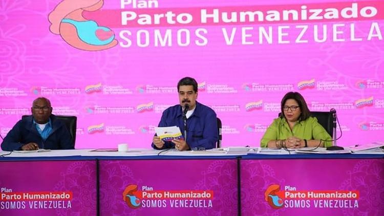Maduro aseguró que el Plan de Parto Humanizado debe ser