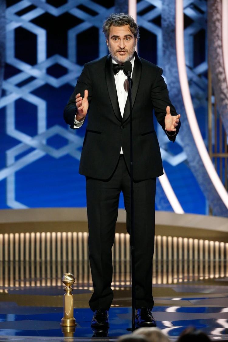 Joaquin Phoenix (Paul Drinkwater/NBC Universal/Handout via REUTERS)