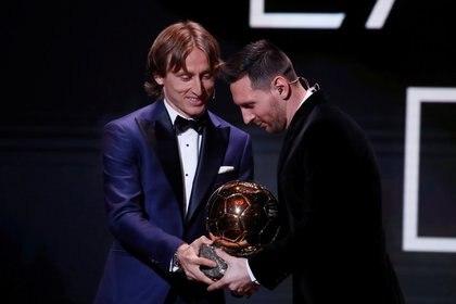 """""""Valoramos su presencia especialmente porque Modric ni siquiera estaba en la lista de 30 finalistas"""" (Foto: Reuters)"""