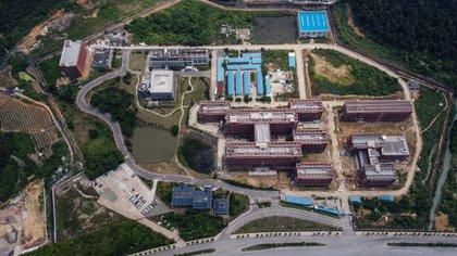 Instituto de Virología de Wuhan (AFP)