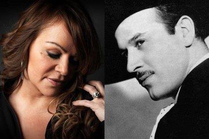 Jenni Rivera y Pedro Infante. (Foto: Archivo)