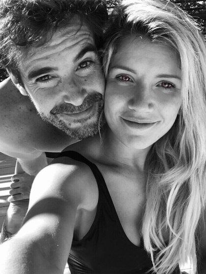"""""""Descubrí que el amor es el regalo más lindo y valioso que me dio la vida"""", escribió la bailarina junto a esta foto."""