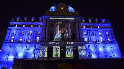 Homenaje a Diego Maradona en el CCK (Gustavo Gavotti)