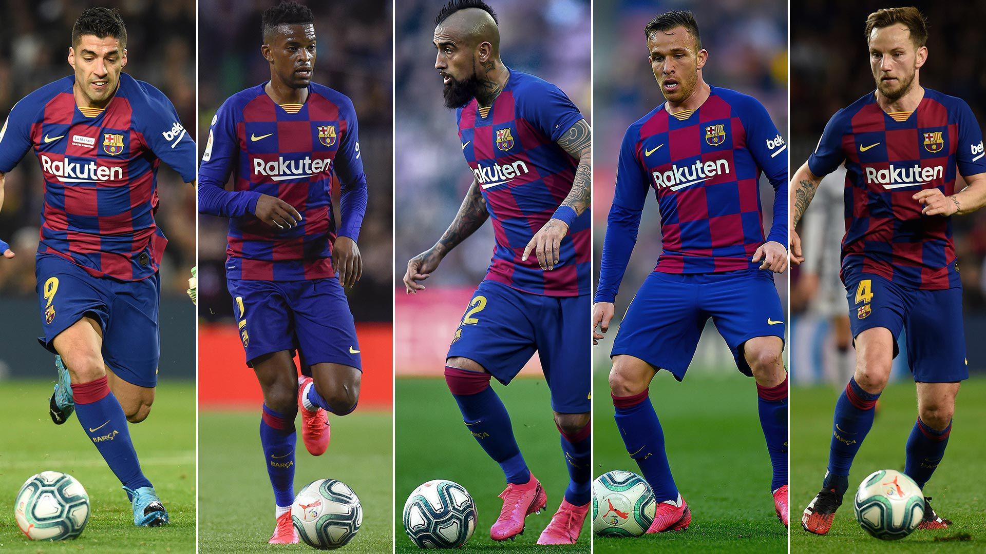 Barcelona 1920 Suárez, Semedo, Vidal, Arthur, Rakitic