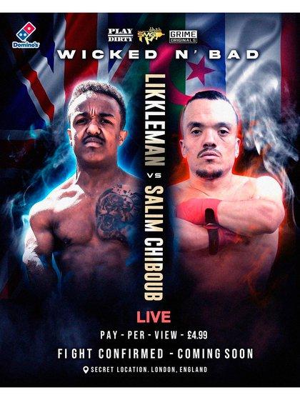 El afiche de la pelea de este sábado que podrá seguirse solamente por PPV