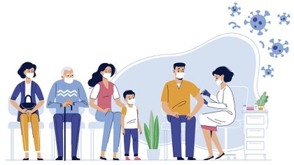 Los ensayos clínicos de Pfizer y Moderna en adultos inscribieron cada uno a unos 50 mil participantes (Shutterstock)