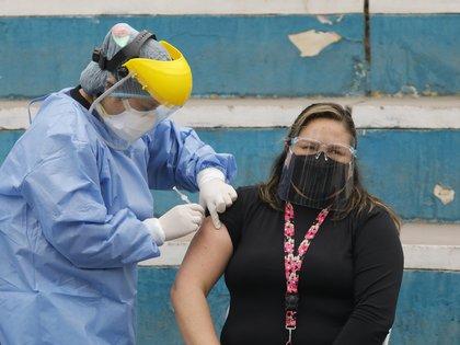 14/09/2020 Campaña de vacunación contra la gripe en Perú, en el marco de la crisis sanitaria provocada por la COVID-19. ECONOMIA SUDAMÉRICA PERÚ LATINOAMÉRICA INTERNACIONAL MARIANA BAZO / ZUMA PRESS / CONTACTOPHOTO