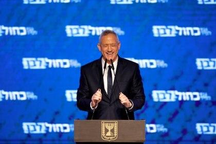 El ex general Benny Gantz hizo una buena elección y su fuerza Azul y Blanco tendrá la misma cantidad de bancas que el Likud de Netanyahu. Pero no tiene suficientes aliados para formar gobierno.