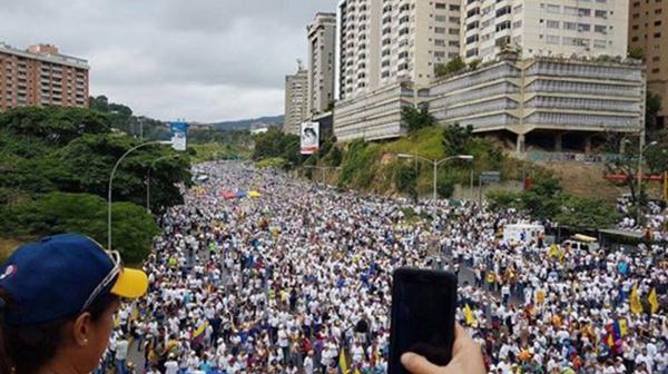 Resultado de imagen para marcha venezuela