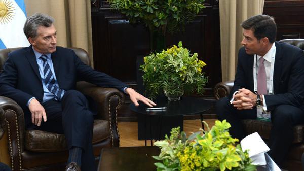 Resultado de imagen para Macri con Martiarena