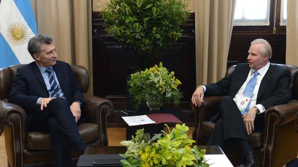 Resultado de imagen para Macri con Bob Dudley,