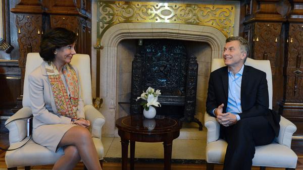 Resultado de imagen de Macri con AnaBotin
