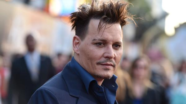 Johnny Depp AP