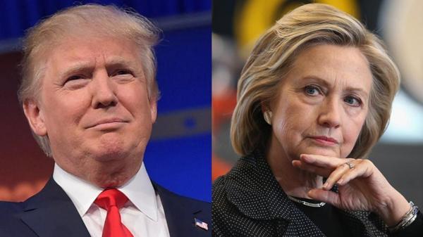 Donald Trump y Hillary Clinton están cada vez más cerca en los sondeos