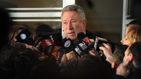 El presidente de la AFA, Luis Segura (Télam)